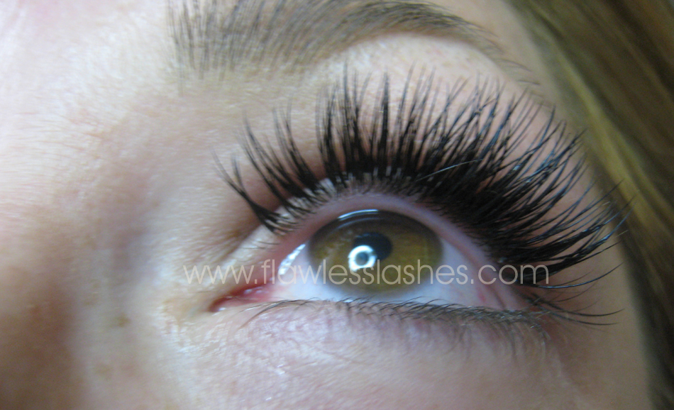 How To Have Full Thick Eyelash Extensions Flawless Lashes