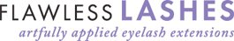 Flawless Lashes Company Logo - Atlanta Eyelash Extensions, Atlanta GA
