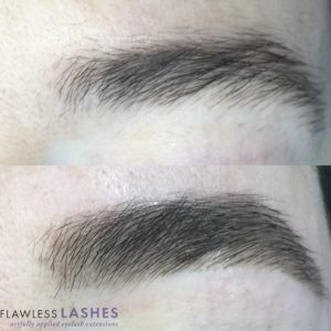 Flawless Lashes Services - Brows