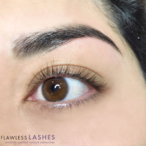 Finished Brows (Image 2) - Flawless Lashes
