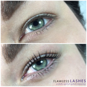 Lash lift and tint, Before and After (Image 1) - Flawless Lashes