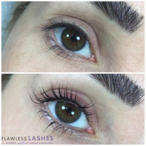 Lash lift and tint, Before and After (Image 3) - Flawless Lashes